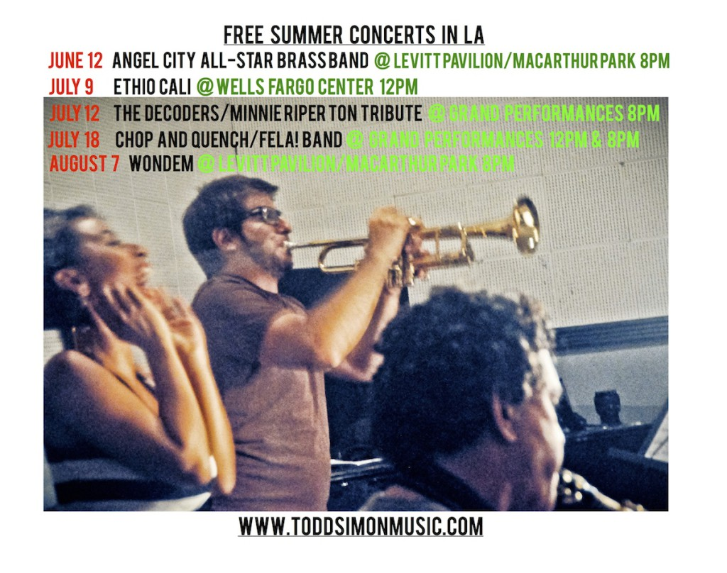 FREE Summer Concerts in LA